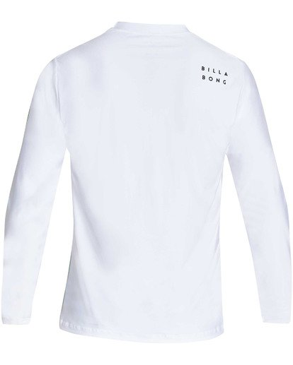 1 All Day Wave Loose Fit Long Sleeve Rashguard White MR61TBWL Billabong