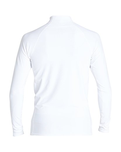 1 Unity Performance Fit Long Sleeve Rashguard White MR61VBUY Billabong