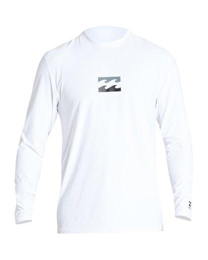0 All Day Wave Loose Fit Long Sleeve White MR61VBWL Billabong