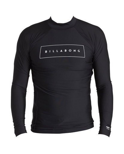 0 Cruiser Performance Fit Long Sleeve Rashguard Black MR64SBUE Billabong