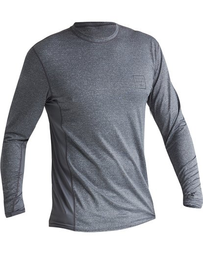 2 Arch Mesh Loose Fit Long Sleeve Surf Shirt Grey MR681BAR Billabong