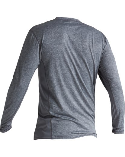 3 Arch Mesh Loose Fit Long Sleeve Surf Shirt Grey MR681BAR Billabong