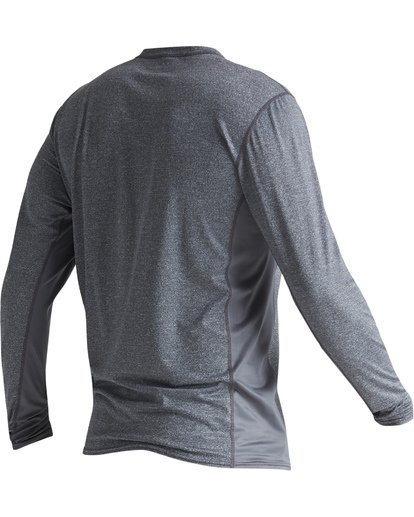 5 Arch Mesh Loose Fit Long Sleeve Surf Shirt Grey MR681BAR Billabong