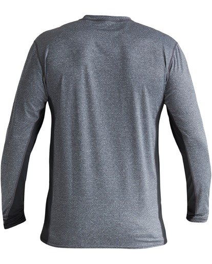 1 Arch Mesh Loose Fit Long Sleeve Rashguard Grey MR683BAR Billabong