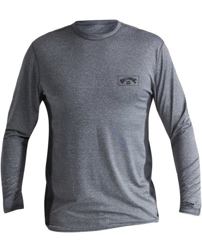 0 Arch Mesh Loose Fit Long Sleeve Rashguard Grey MR683BAR Billabong