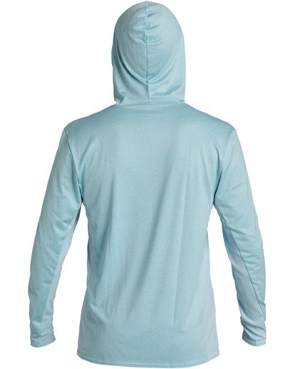 1 Arch Mesh Hood Loose Fit Rashguard Multicolor MR693BAR Billabong