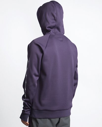 2 Arch Quarter Zip  Polar Fleece Purple MSN6VBAQ Billabong