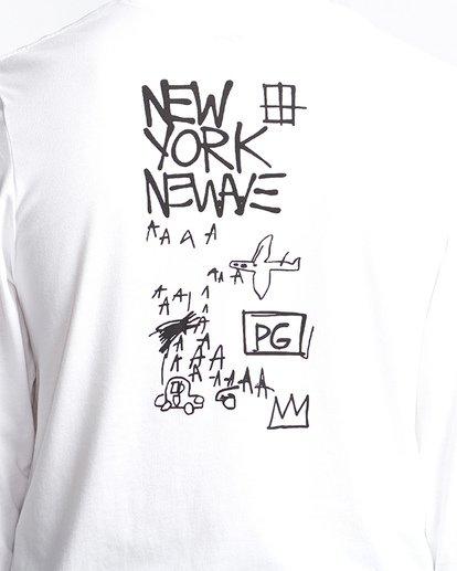 4 Basquiat Long Sleeve Thermal White MSN9VBTT Billabong