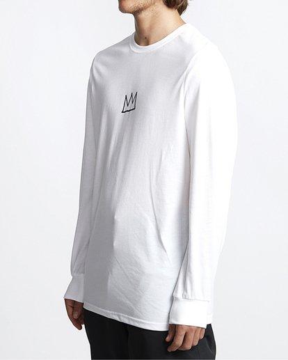 1 Basquiat Long Sleeve Thermal White MSN9VBTT Billabong