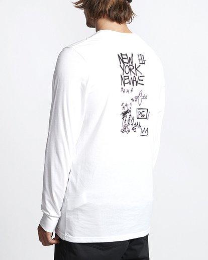 2 Basquiat Long Sleeve Thermal White MSN9VBTT Billabong