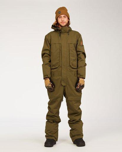 0 Fuller Suit Green MSNF3BFU Billabong