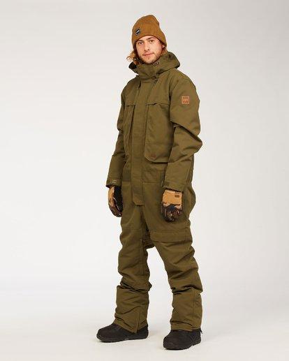1 Fuller Suit Green MSNF3BFU Billabong