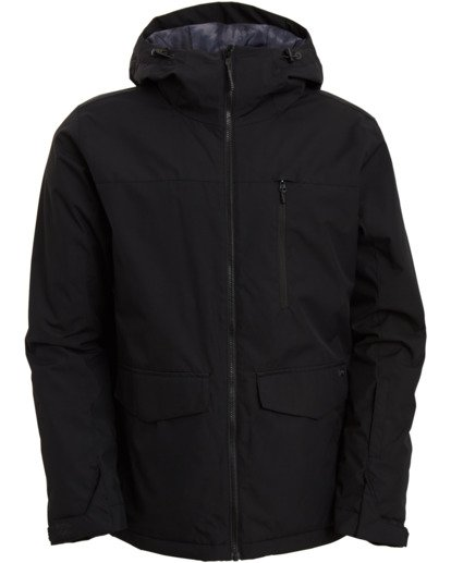 9 All Day Jacket Black MSNJ3BAD Billabong