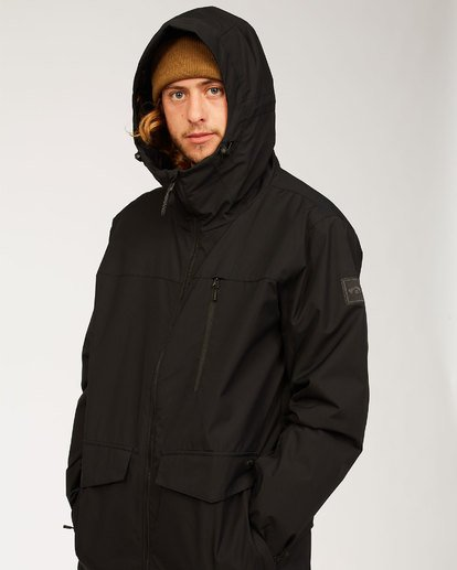 8 All Day Jacket Black MSNJ3BAD Billabong