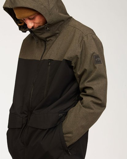 7 All Day Jacket Grey MSNJ3BAD Billabong