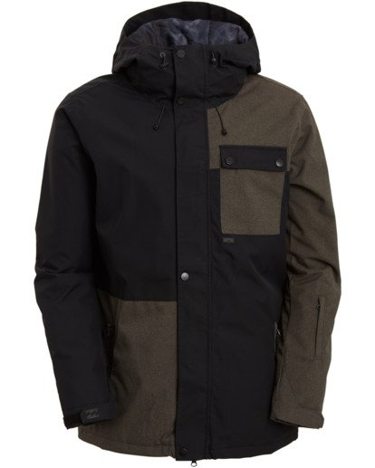 8 Arcade Jacket Black MSNJ3BAR Billabong