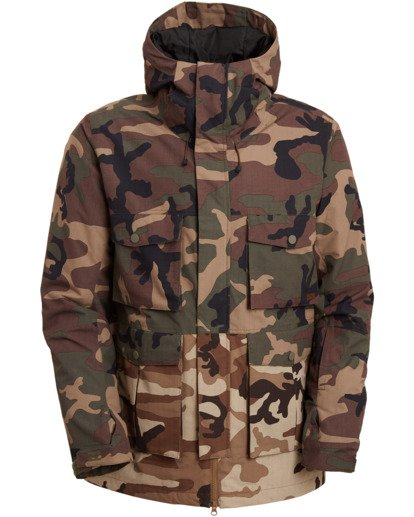 9 Adversary Jacket Green MSNJ3BAY Billabong