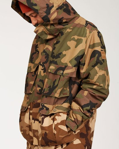8 Adversary Jacket Green MSNJ3BAY Billabong