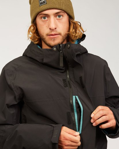 6 Delta Stx Jacket Black MSNJ3BDS Billabong