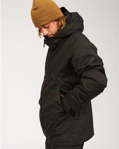 8 Expedition Jacket Black MSNJ3BEX Billabong