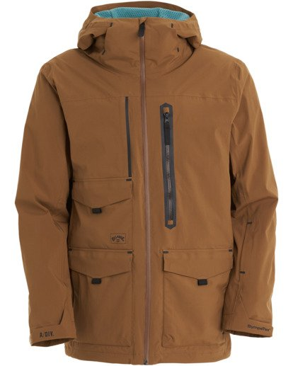 11 Prism Stx Jacket Brown MSNJ3BPS Billabong
