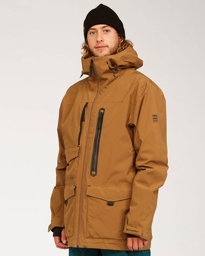 1 Prism Stx Jacket Brown MSNJ3BPS Billabong