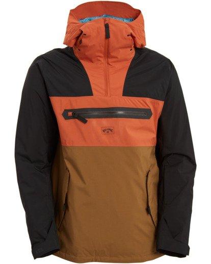 7 Quest Jacket Brown MSNJ3BQT Billabong