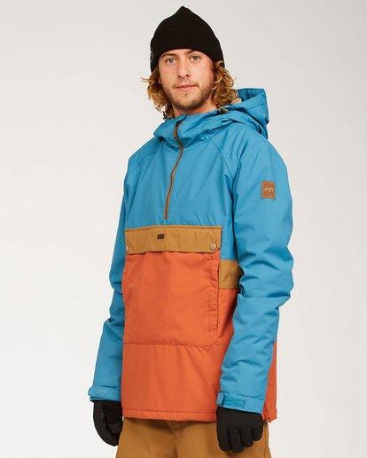 1 Stalefish Jacket Blue MSNJ3BSA Billabong