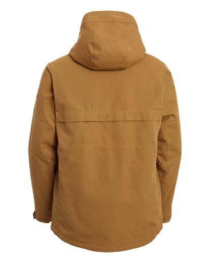 11 Shadow Jacket Brown MSNJ3BSW Billabong