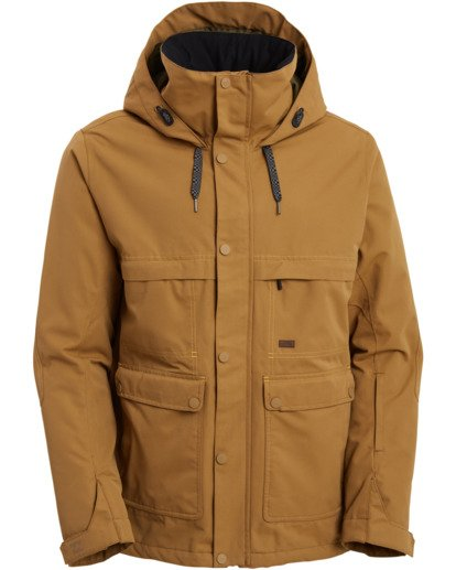 10 Shadow Jacket Brown MSNJ3BSW Billabong