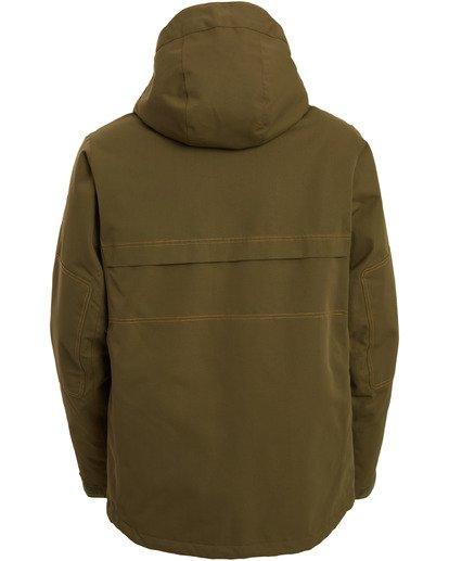 10 Shadow Jacket Green MSNJ3BSW Billabong