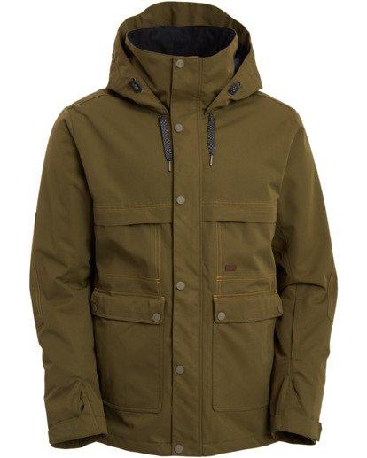 9 Shadow Jacket Green MSNJ3BSW Billabong