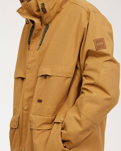 8 Shadow Jacket Brown MSNJ3BSW Billabong