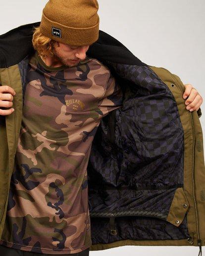 4 Shadow Jacket Green MSNJ3BSW Billabong