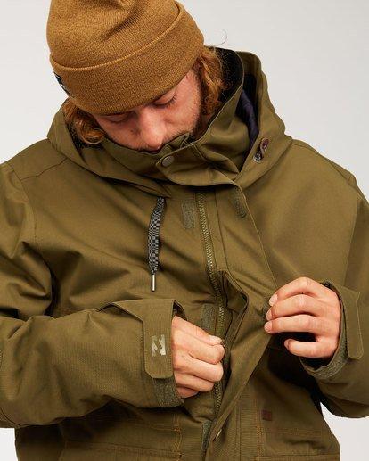 6 Shadow Jacket Green MSNJ3BSW Billabong
