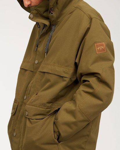 8 Shadow Jacket Green MSNJ3BSW Billabong