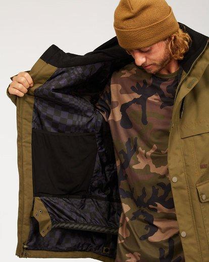 5 Shadow Jacket Green MSNJ3BSW Billabong