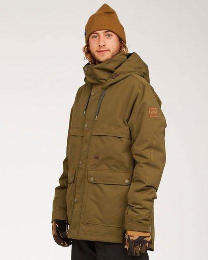 1 Shadow Jacket Green MSNJ3BSW Billabong