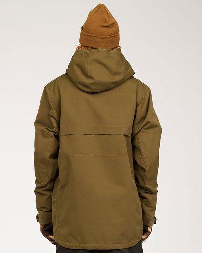 2 Shadow Jacket Green MSNJ3BSW Billabong