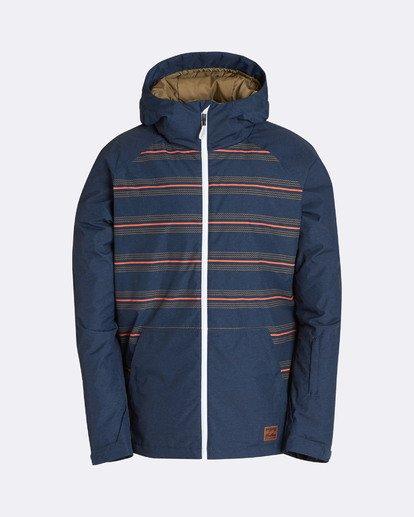 11 Men's All Day Solid Outerwear Jacket Multicolor MSNJQADI Billabong