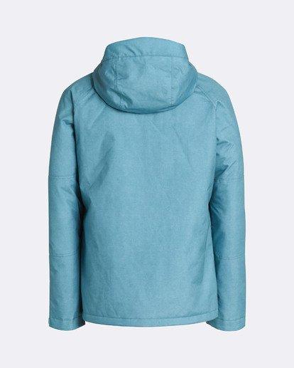 1 Men's All Day Solid Outerwear Jacket Blue MSNJQADI Billabong