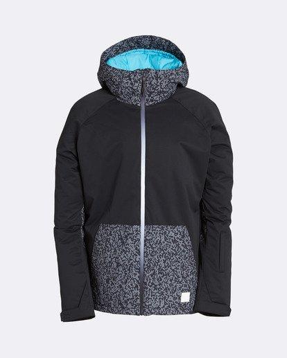 0 Men's All Day Solid Outerwear Jacket Grey MSNJQADI Billabong