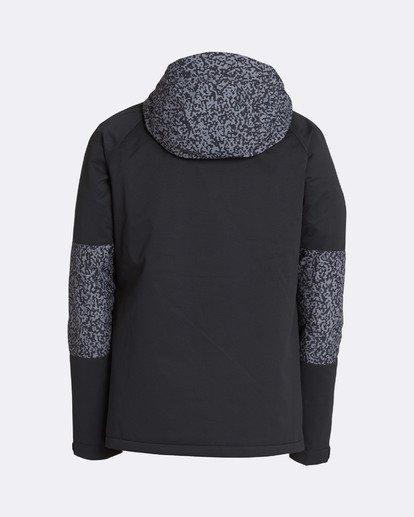 1 Men's All Day Solid Outerwear Jacket Grey MSNJQADI Billabong