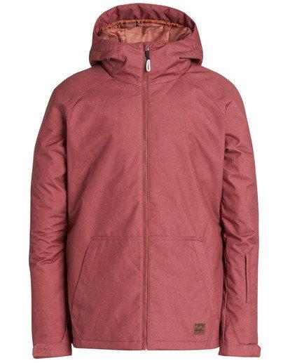 8 Men's All Day Solid Outerwear Jacket Grey MSNJQADI Billabong