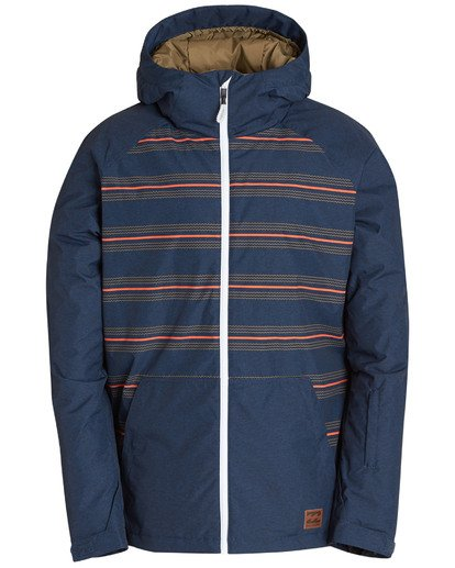 9 Men's All Day Solid Outerwear Jacket Multicolor MSNJQADI Billabong