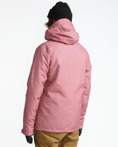 4 Men's All Day Solid Outerwear Jacket Brown MSNJQADI Billabong
