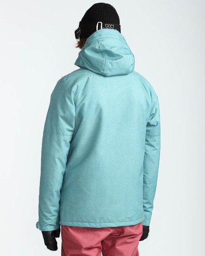 4 Men's All Day Solid Outerwear Jacket Blue MSNJQADI Billabong