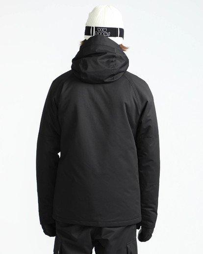 5 Men's All Day Solid Outerwear Jacket Black MSNJQADI Billabong