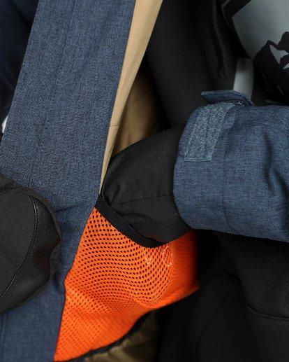 8 Men's All Day Solid Outerwear Jacket Blue MSNJQADI Billabong