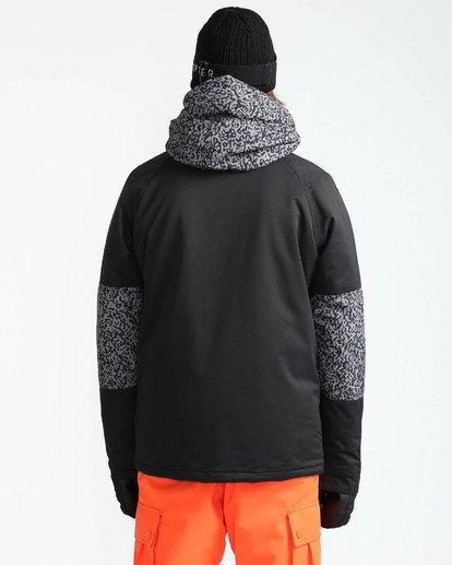 6 Men's All Day Solid Outerwear Jacket Grey MSNJQADI Billabong